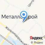 Мастерская по изготовлению ключей на карте Санкт-Петербурга