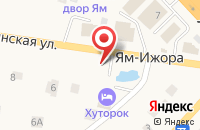 Схема проезда до компании Хуторок в Войскорово