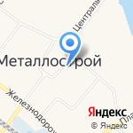 Ризели на карте Санкт-Петербурга