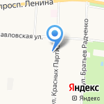 Фабрика Удивительных Потолков на карте Санкт-Петербурга