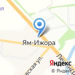 Виноград на карте Санкт-Петербурга