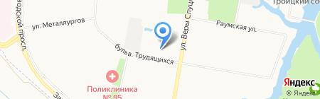 Актив на карте Санкт-Петербурга