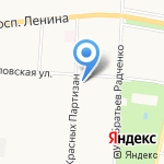 Манул на карте Санкт-Петербурга