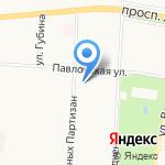 ЖСК №1458 на карте Санкт-Петербурга