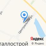 Ермак на карте Санкт-Петербурга
