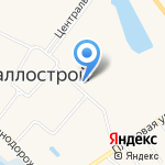Светлен на карте Санкт-Петербурга