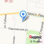 Городская поликлиника №71 на карте Санкт-Петербурга