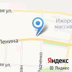 Наш Зверолаш на карте Санкт-Петербурга