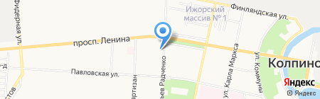 TUI на карте Санкт-Петербурга