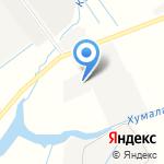 Компания по аренде манипулятора на карте Санкт-Петербурга