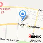 Гранд При на карте Санкт-Петербурга