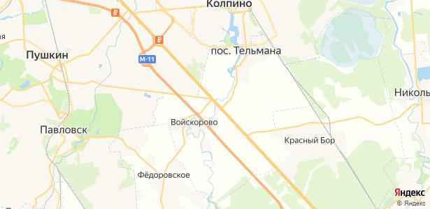 Ям-Ижора на карте