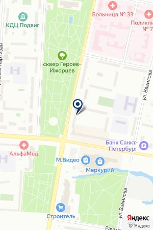ПРОДОВОЛЬСТВЕННЫЙ МАГАЗИН АНГАЛ на карте Колпино