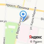 Экспрессия на карте Санкт-Петербурга