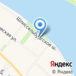 ЛОКС на карте Санкт-Петербурга