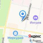 Детский сад №45 компенсирующего вида на карте Санкт-Петербурга