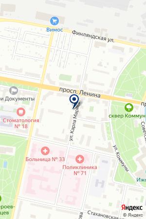 ПРОИЗВОДСТВЕННО-КОММЕРЧЕСКОЕ ПРЕДПРИЯТИЕ БРИГАНТИНА на карте Санкт-Петербурга