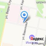 Станция скорой медицинской помощи на карте Санкт-Петербурга