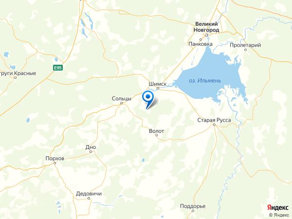 деревня Щипицы на карте