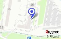 Схема проезда до компании НП ЖСК ГРАФИТ в Колпино