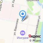 САН на карте Санкт-Петербурга
