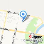 Аварийно-механизированная служба на карте Санкт-Петербурга