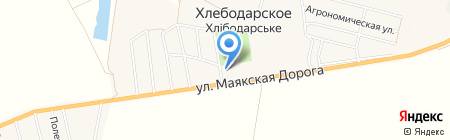 Арго на карте Хлебодарского