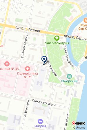 РЕКЛАМНОЕ АГЕНТСТВО ЭДМЕН на карте Колпино