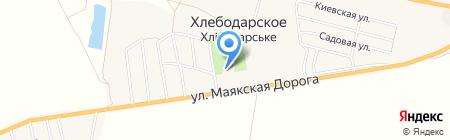 Причерноморье на карте Хлебодарского
