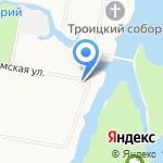 Ниво на карте Санкт-Петербурга