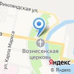 Центр образования №170 на карте Санкт-Петербурга