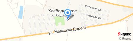 Апрель на карте Хлебодарского
