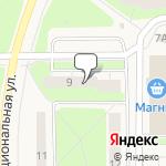 Магазин салютов Костомукша- расположение пункта самовывоза