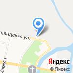 Русь на карте Санкт-Петербурга