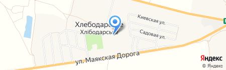 Участковый пункт милиции Овидиопольского районного отдела ГУМВД Украины в Одесской области на карте Хлебодарского