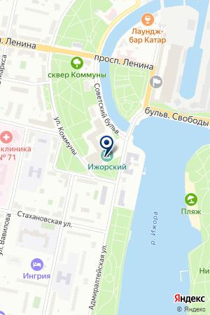 ТФ ПРОМЫШЛЕННЫЕ СИСТЕМЫ на карте Колпино