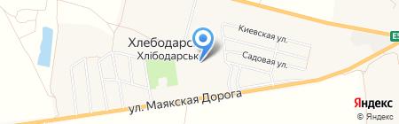 Амбулатория общей практики семейной медицины на карте Хлебодарского