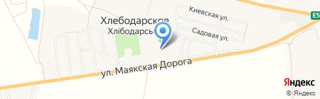 T-Studio на карте Хлебодарского