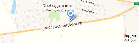 Многопрофильный центр на Маякской дороге на карте Хлебодарского