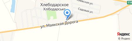 Продуктовый магазин на карте Хлебодарского