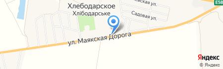 КБ ПриватБанк на карте Хлебодарского