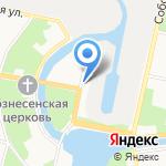 Администрация Колпинского района на карте Санкт-Петербурга