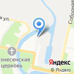 Технолит на карте Санкт-Петербурга
