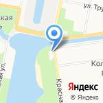 Муниципальное образование г. Колпино на карте Санкт-Петербурга