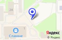 Схема проезда до компании ТФ МЕРКУРИЙ в Калевале