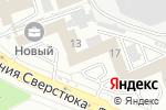 Схема проезда до компании Ассоциация украинских банков в