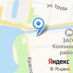 Шатура на карте Санкт-Петербурга