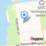 Поддержка на карте Санкт-Петербурга