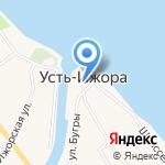 Муниципальное образование пос. Усть-Ижора на карте Санкт-Петербурга
