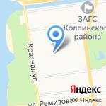 Средняя общеобразовательная школа №455 с углубленным изучением английского языка на карте Санкт-Петербурга